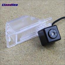 Liandlee Anti Collision Laser Fog Lights For Nissan Sunny 2011~2014 Car Rear Distance Warning Alert Line Safe Drive Light стоимость