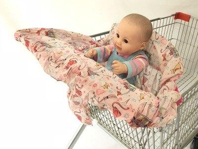 2 в 1 детская корзина гамак тележка для обеденного стула защиты антибактериальные безопасности дорожная подкладка Защитная крышка для детей - Цвет: 2