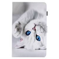 New Fashion Stand PU Leather Flip Case Wallet Slim Cover For Samsung Galaxy Tab A A6