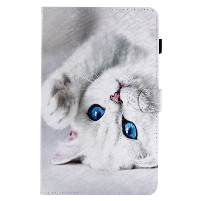 New Fashion Stand PU Leather Flip Case Wallet Slim Cover for Samsung Galaxy Tab A A6 10.1 T580 T585 T585N Tablet Smart Cover fashion painted flip pu leather for samsung galaxy tab a 10 1 sm t580 t585 t580n 10 1 inch tablet smart case cover pen film