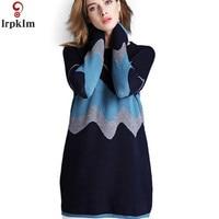 Autumn Winter Women's Clothing 2019 New Large Size Sweater Elegant Temperament Long Ladies Sweater Loose Bottoming Sweater