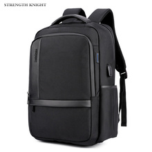 Multifunction USB charging Men 15.6 inches Laptop Backpacks Male Waterproof Nylon Casual Business Mochila Travel backpack