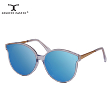 High Quality Brand Designer Women Sunglasses Cat Eye Rose Lens 2017 New Brand Summer Sunglasses with Original Case