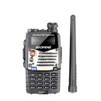 "vhf uhf Baofeng UV-5RA מכשיר הקשר 5W High Power Dual Band כף יד שני הדרך Ham Radio UHF / השתמש אבטחה מקמ""ש HF Communicator VHF (2)"