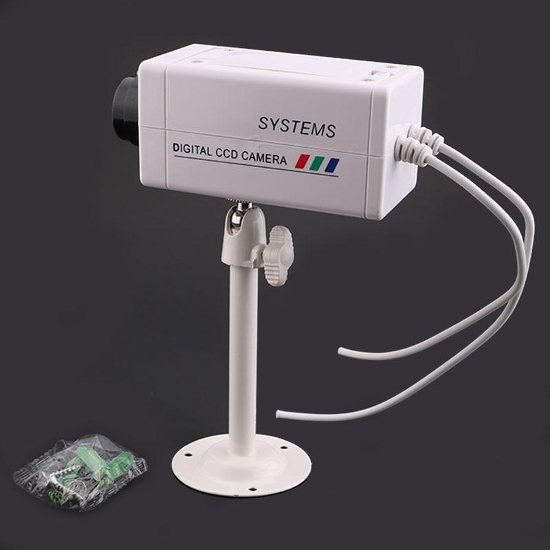 Outdoor indoor High quality simulation Fake surveillance cameras Mini ip Camera monitoring CCTV Camera