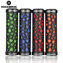 ROCKBROS Bicycle Grips Dustproof Bike Handlebar Mountain Cycling Handle Grip Downhill Accessories