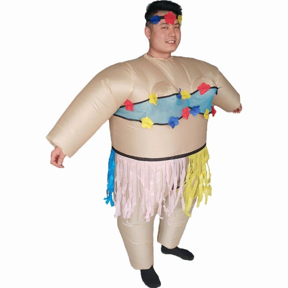 Hula Costume Hawaii Hawaï Costume Garçon JGA Messieurs Drôle Amusant