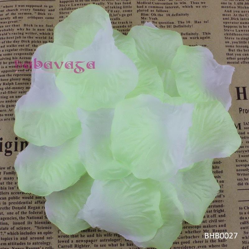 1000pcs Silk Rose Flower Petals Wedding Party Table Confetti Decorations Turquoise-1000pcs