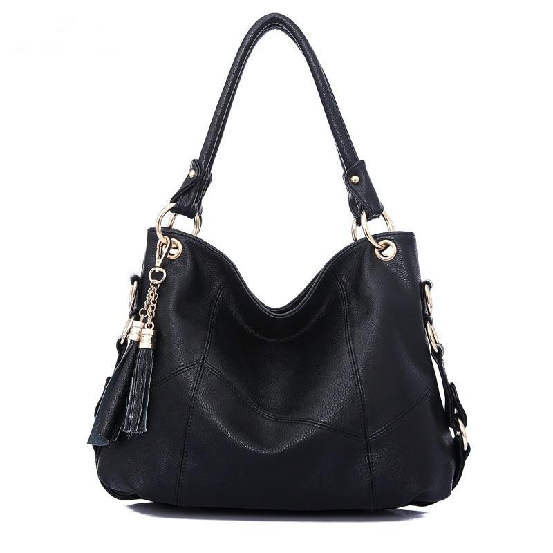 Beste Kopen Beroemde merk vrouwen handtas kwastje luxe designer Lederen tas  dames grote schoudertas Vrouwelijke big bag casual tote Crossbody Bag  Goedkoop 44bbbc9dd2