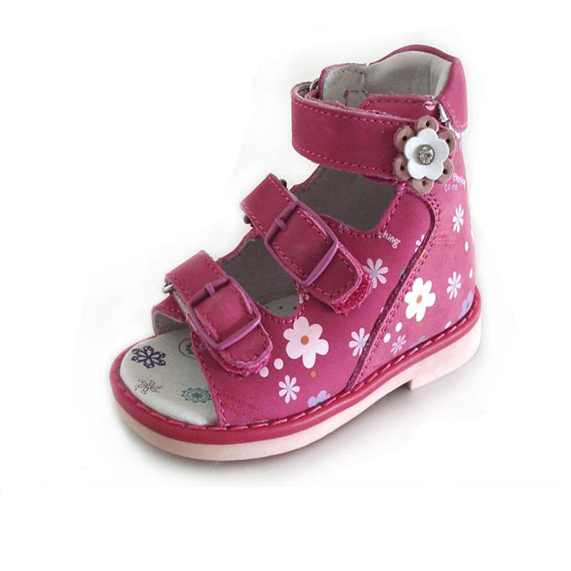 2018 NEW girl sandals childrens Orthopedic Shoes Kids Genuine Leather,summer Sandals, Baby Child Sandals shoes