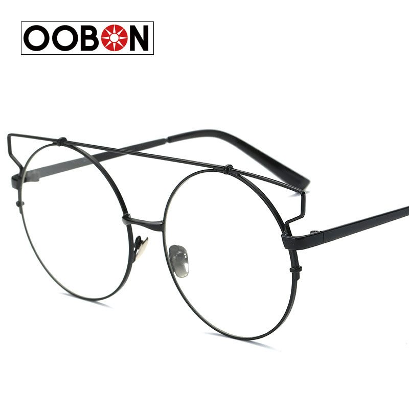 CVOO Newest Stylish Brand Square Frame Glasses Optical Male Large Clear Mens Designer Eyeglass Frames Black Men Spectacles IzXJdvwcG