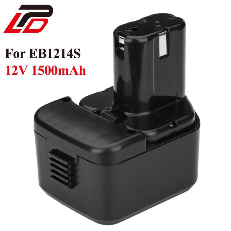 Для Hitachi EB1214S батарея Замена 12 В 1.5Ah аккумуляторная батарея для C5D, DS12DVF3, EB1212S, R 9D, DS12DVF 322629 инструменты