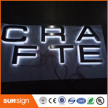 Sunsign Factoy Outlet Custom Outdoor Acrylic led signs for shop