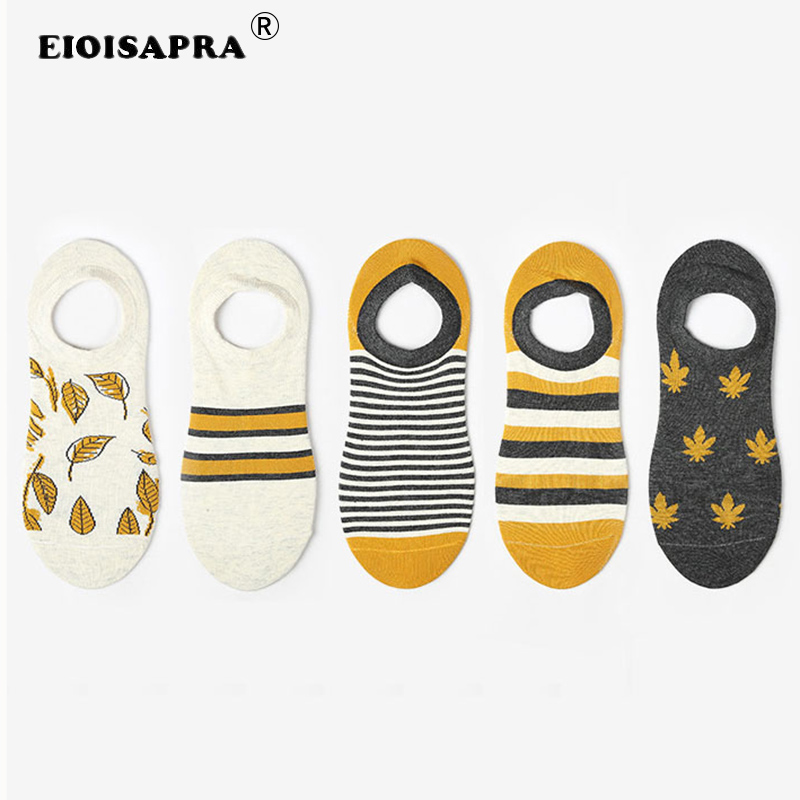 [EIOISAPRA]Korean Funny Men Socks Creative Non-slip Invisible Socks Calcetines Skarpetki Meias Harajuku Socks Men Short Socks
