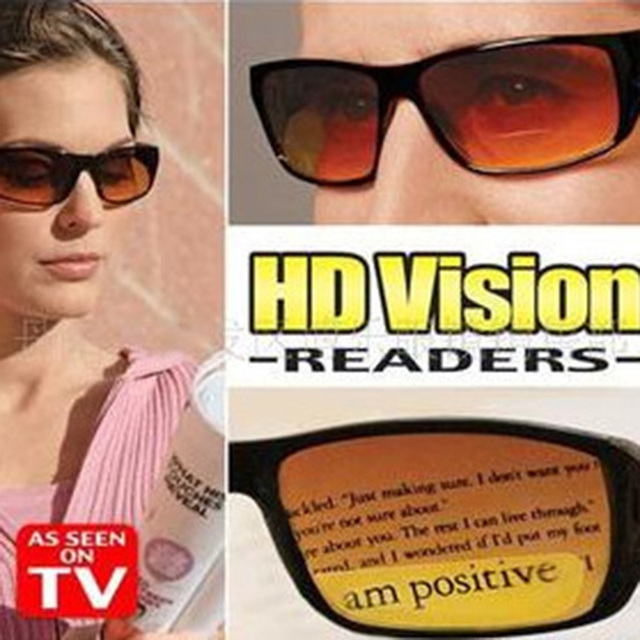 New HD Vision Glasses Over Wrap Arounds Sunglasses Men Night Driving UV400 Protective Eyewear Goggles Driver Safety Sun Glasses 1