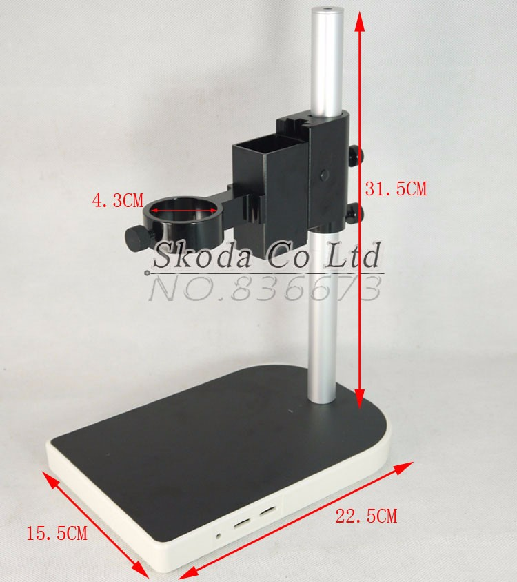 CCD Industrial Camera Holder Upper and down regulation Digital Industry Lab Microscope Lens Table Stand Fixed Holder factory direct sale mini industry microscope stand lcd digital microscope camera arm holder size 40mm page 5