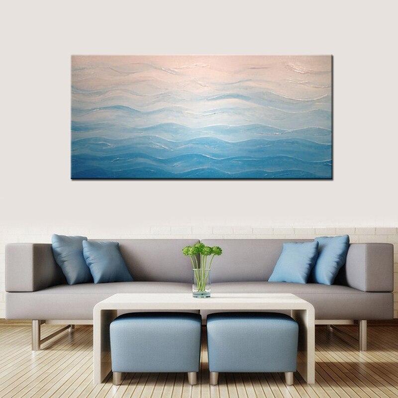 abstract zee schilderijen-koop goedkope abstract zee schilderijen, Deco ideeën