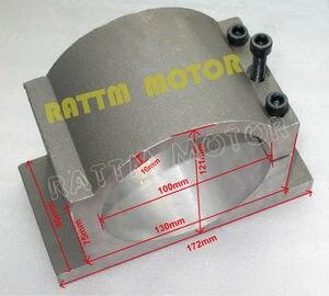 Image 5 - Двигатель шпинделя с водяным охлаждением, 3 кВт ER20 4 подшипника и инвертор 3 кВт VFD 4HP 220 В и 100 мм зажим для фрезерного станка с ЧПУ
