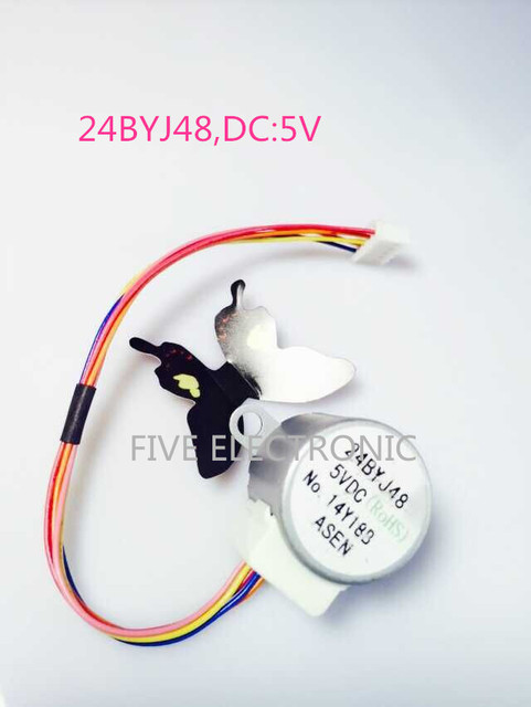 24BYJ48 5V 4 phase 5 draht Getriebemotor + XH leitungsdraht Schritt ...