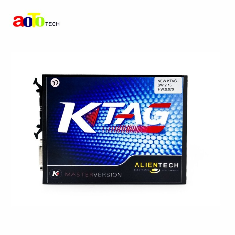 High Quality 2.13 KTAG K TAG ECU Programming Tool Master Version No Token Limited K TAG Hardware 6.070 Free Shipping