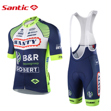Bib Shorts Cycling-Team-Suit Bike Gobert-Jersey WANTY-GROUPE Santic Bicycle Pro Men Commemorative-Edition