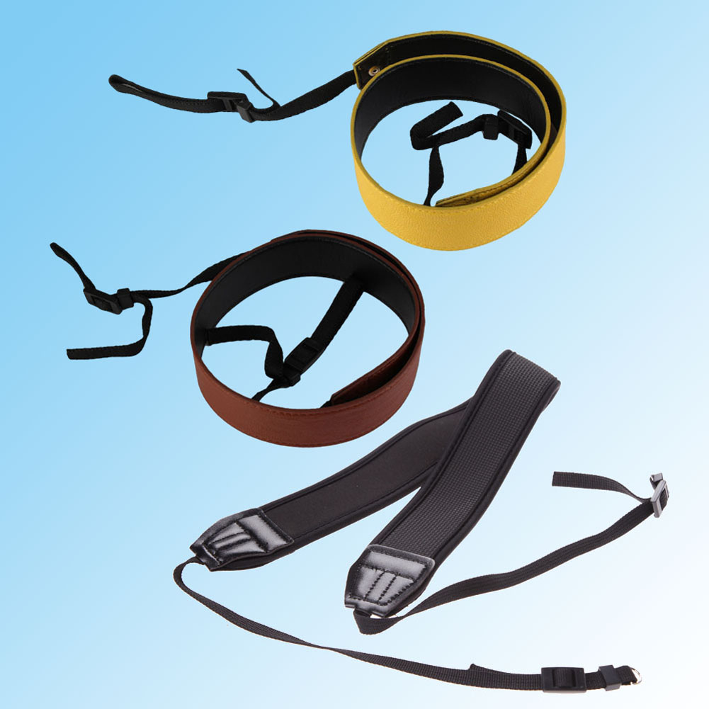 Brand New DSLR Camera Strap PU Leather Shoulder Camera Neck Strap DSLR SLR Shoulder Belt Studio Photo Accessories