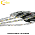 LED Strip 5050 DC12V Flexible LED Light 60 LED/m White / Warm White / Cold White Red / Greed / Blue \ Yellow / RGB 5m/lot.