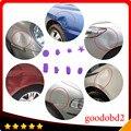 Ferramentas de PDR Paintless Dent Repair Tools Professional Car Dent Guias Remoção Dent Dent PDR Cola Extrator Tabs 8 tamanho Plástico tab