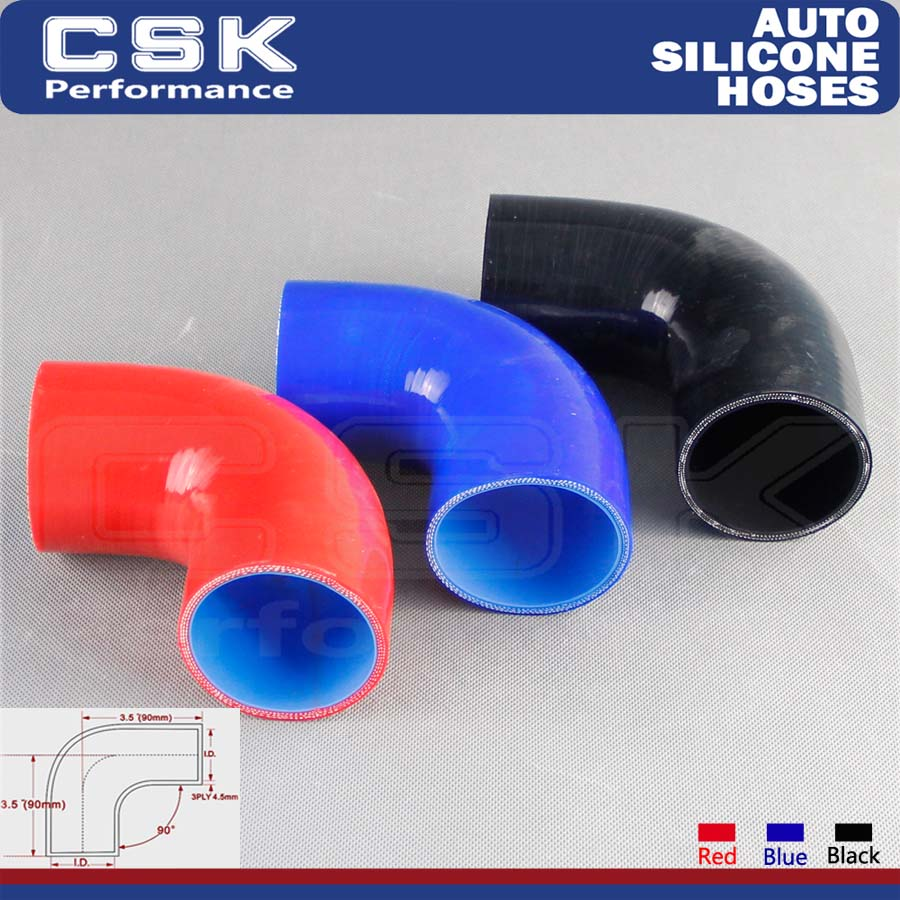 """Silicone hose 45 degree 3/"""" elbow COUPLER turbo air intake intercooler red new!!"""
