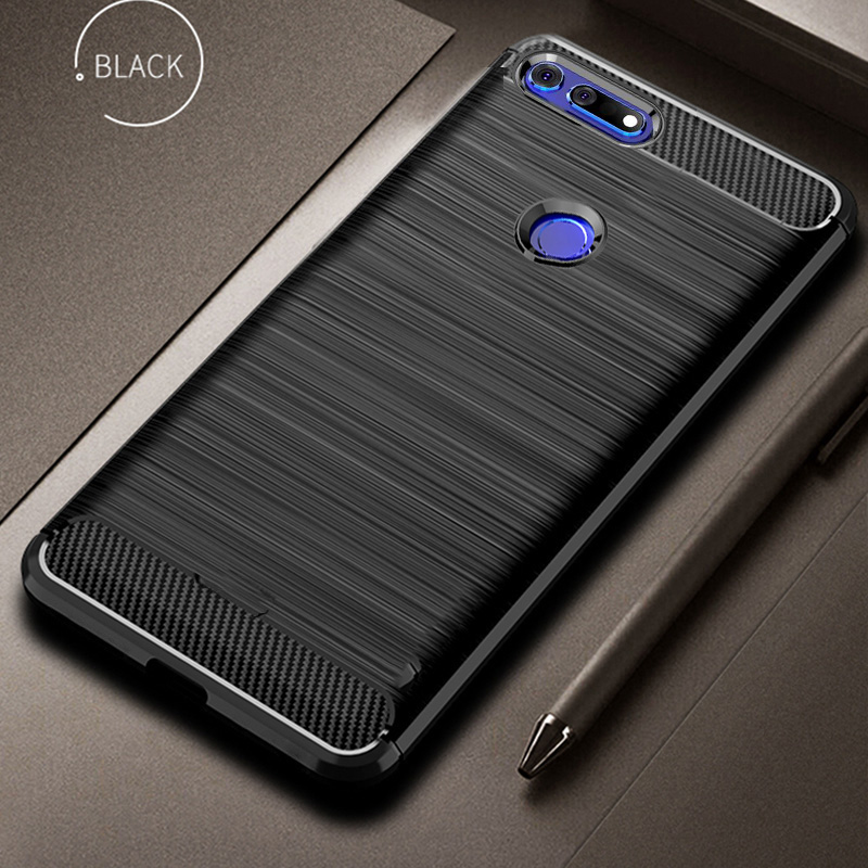 For Honor View 20 Case Carbon Fiber Cover 360 Full Protection Phone Case On For huawei Honor V20 View20 Cover Shockproof Bumper image