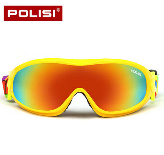 eeee2b091a POLISI Winter Anti Fog Ski Goggles Children Kids Snowboard Protective  Eyewear Boys Girls UV400 Snowmobile Skate Snow-in Skiing Eyewear from  Sports ...
