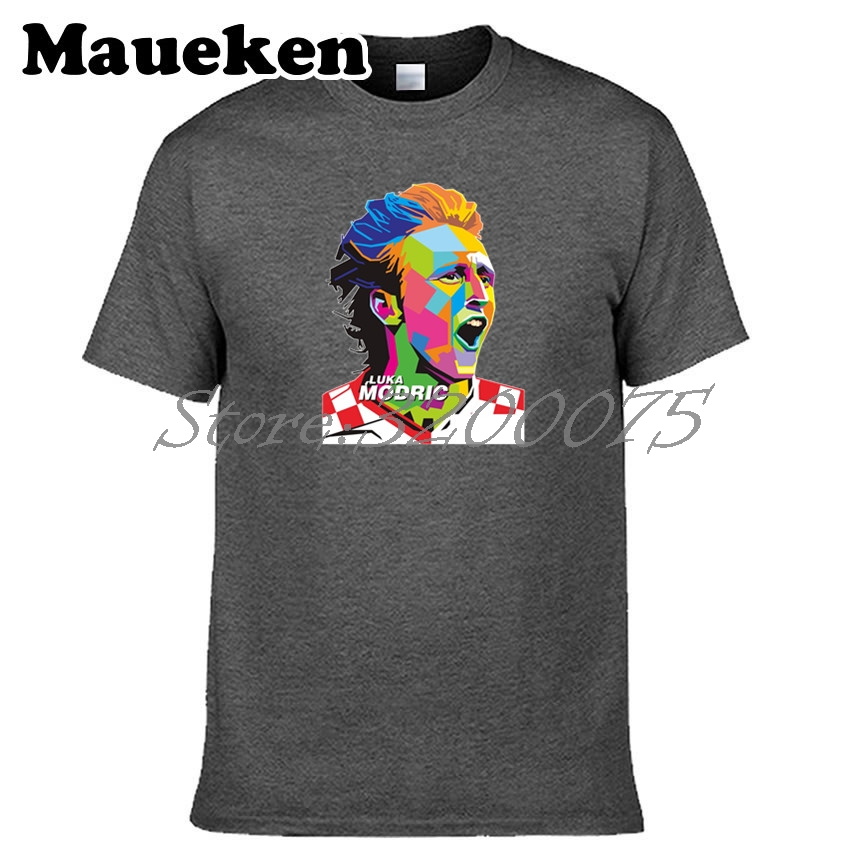 the latest 03ddb dda5c US $18.88  Men Luka Modric 10 Croatia reals magician core Legend T shirt  Clothes T Shirt Men's for fans gift o neck tee W18042706-in T-Shirts from  ...
