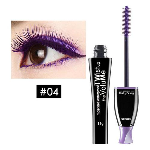New Color Curling Mascara Durable Waterproof Moisturizing Long Fiber Non-staining Mascara Ladies Easy To Wear Makeup Tools TSLM2