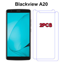 2PCS Tempered Glass for Blackview A20 Smartphone Explosion-proof Protective Film fundas for Blackview A20 5.5 Screen Protector(China)