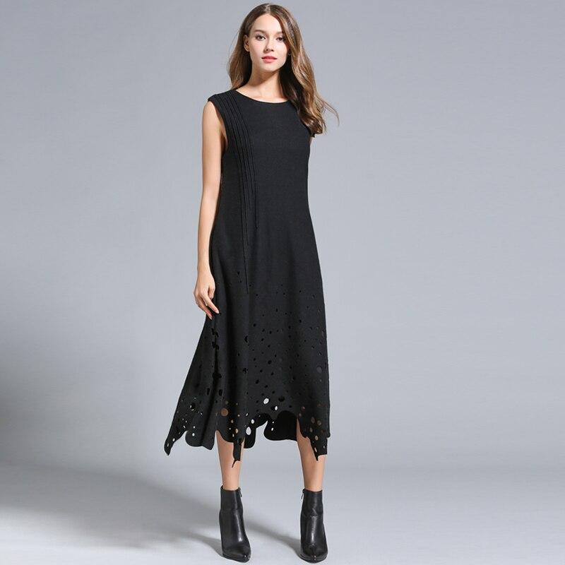 Осенние зимние платья женские без - Женская одежда - Фотография 2
