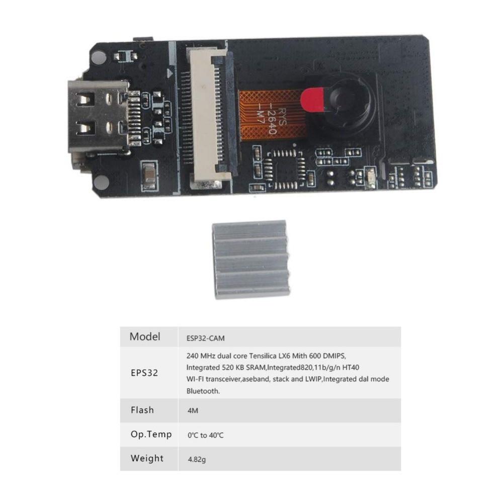Image 4 - ESP32CAM Camera Module ESP32 For Arduino ESP32 CAMERA-in Replacement Parts & Accessories from Consumer Electronics