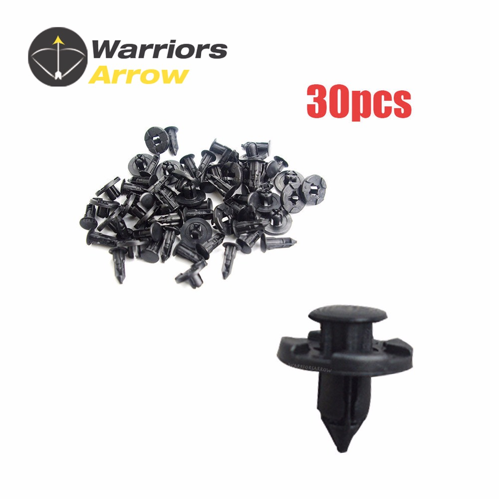 MAZDA SCREW TYPE RIVET 8mm  Pack of 10
