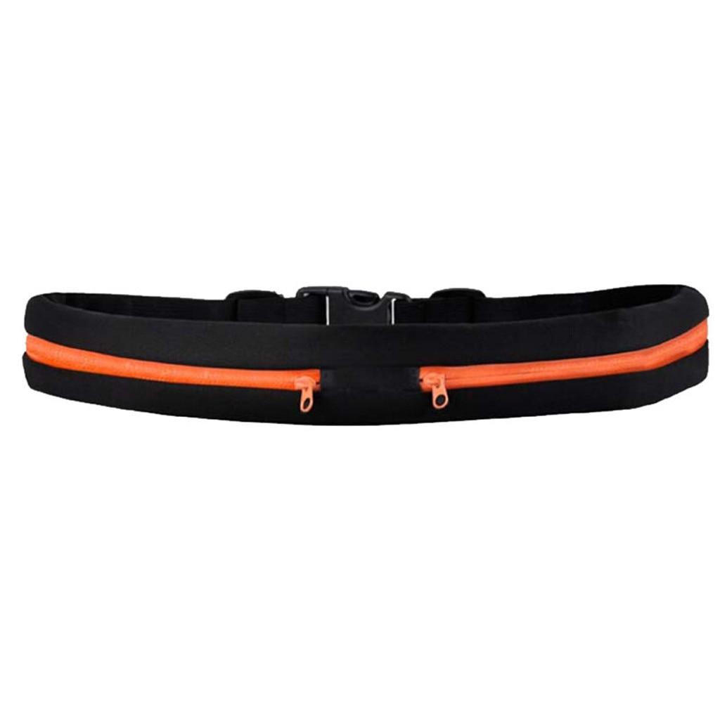 Slim Running Waist Belt Outdoor Waist Belt Unisex Travel Running Cycling Waist Sports Pack Belt  Multifunctional Waterproof