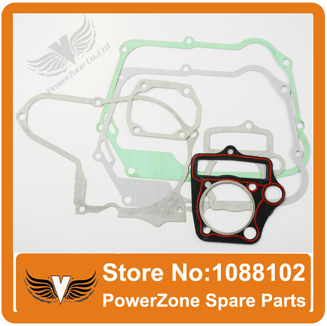 ZONGSHEN LONCIN <font><b>LIFAN</b></font> 50cc-<font><b>110cc</b></font> Horizontal <font><b>Engine</b></font> Full Set Gasket Cylinder Gasket Fit Dirt Pit Bike ATV Quad Free Shipping image