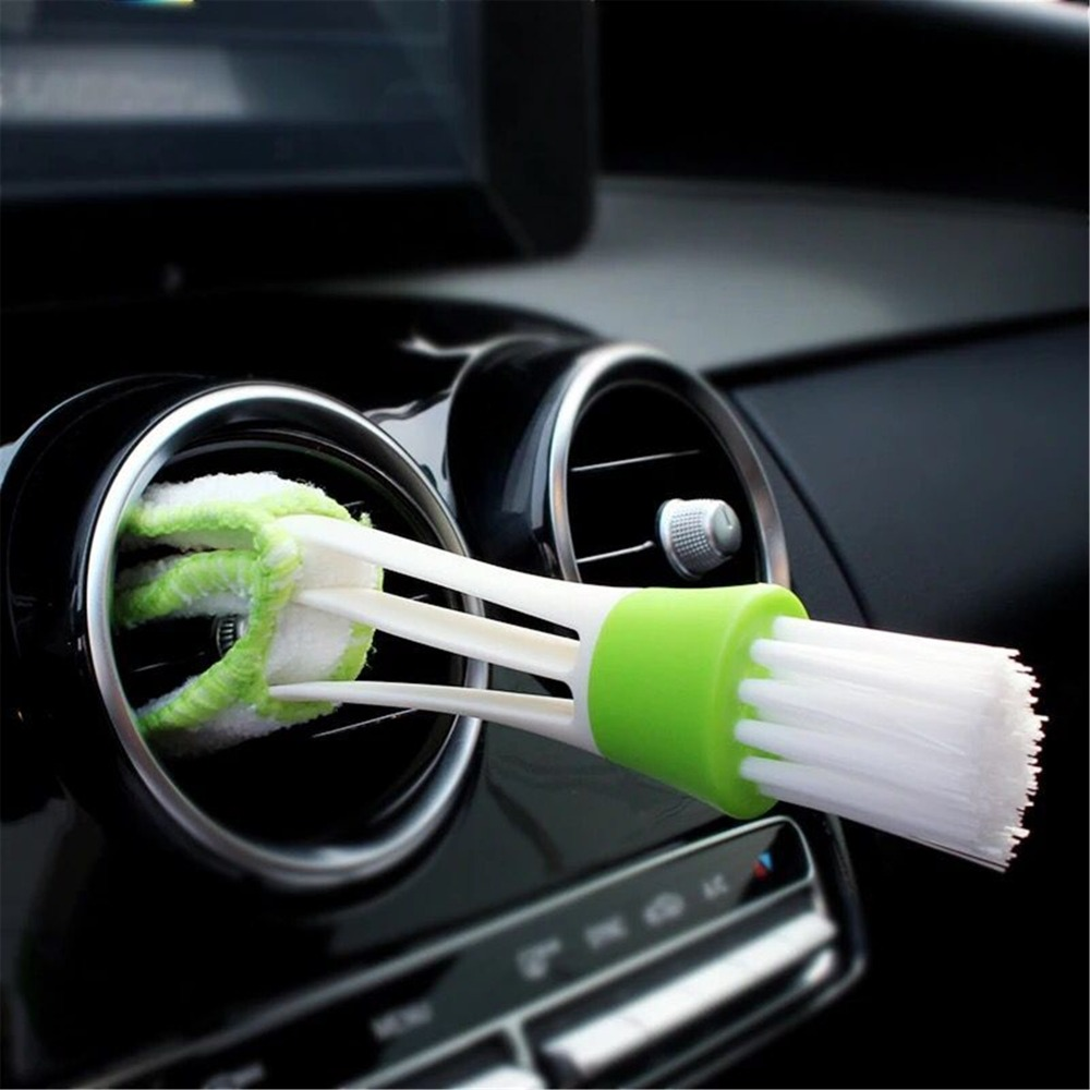 Car Clean Brush Accessories Sticker For Mercedes Benz AMG W201 A Class GLA W176 CLK W209 W202 W220 W204 W203 W210 W124 W211 W222 in Car Stickers from Automobiles Motorcycles