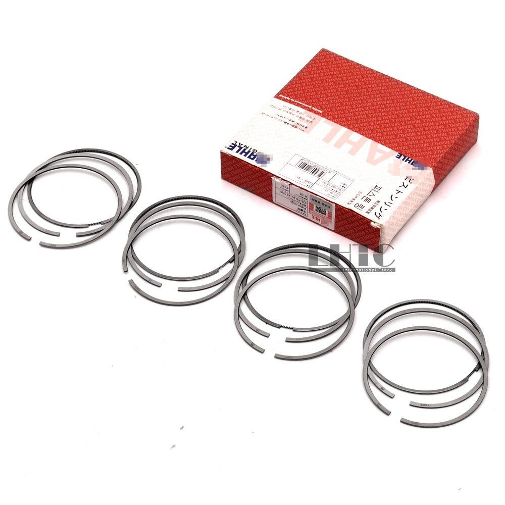 One Set Engine Piston Rings 82.5 STD 0.00 For V W Je Tta GLI Passat  AUDI A3 TT SKODA SEAT 1.8TFSI 2.0TFSI DOHC 16V