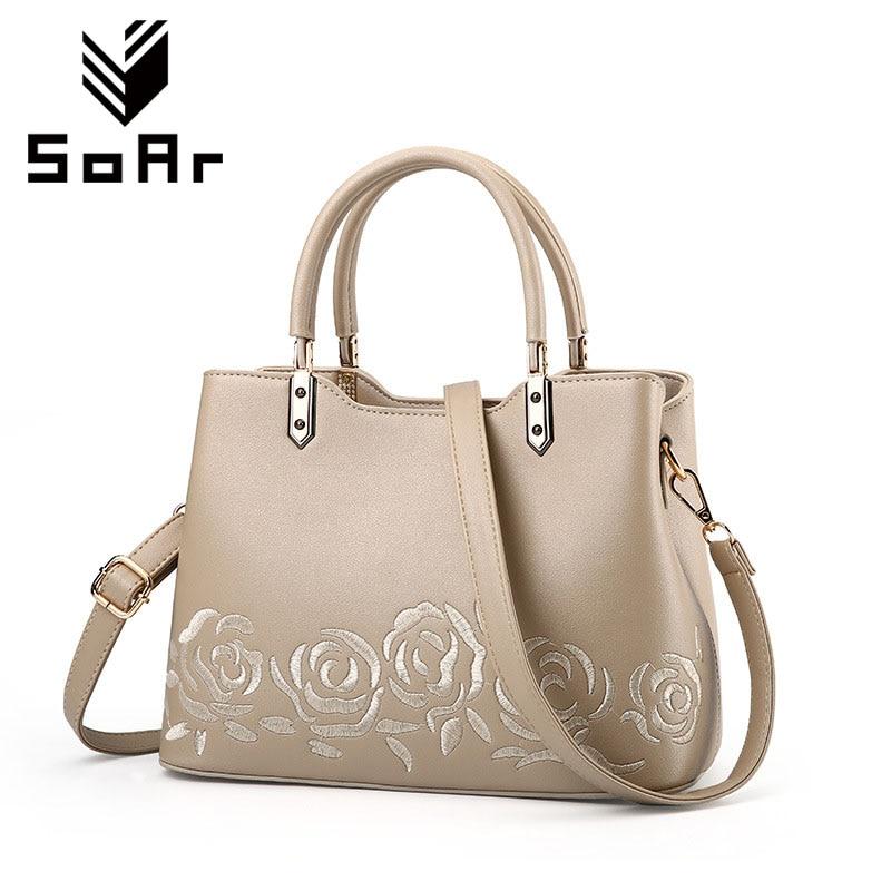 SoAr Women Totes Purses Flower Handbag Embroidery Bag Ladies Handbags  Designer Brands Women Messenger Bag Crossbody Bags Hot 4 6cf9c1aef4f96