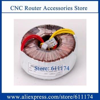 New Copper Toroidal 500w input voltage AC220V output voltage 110V 70V 48V 24V 12V Ring transformer 500VA