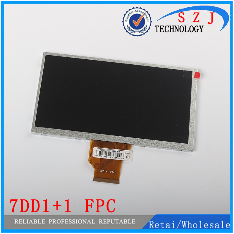 New 7 inch INNOLUX AT070TN92 V.X LCD Screen 7DD1+1 FPC 800*480 for Tablet Car DVD lcd Free shipping