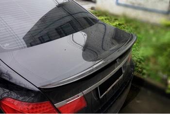 Для BMW F01 F02 7 серии спойлер из углеродного волокна Материал Задний Багажник крыло спойлер AC Стиль