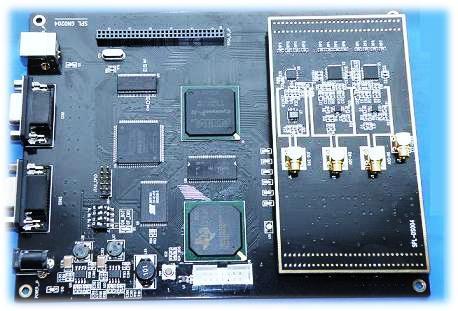 Development-Board for The Software Platform DSP FPGA SDR0204