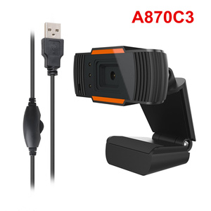Image 4 - HXSJ 3LED HD webcam 480P PC camera with absorption microphone MIC night vision for Skype PC camera USB webcam