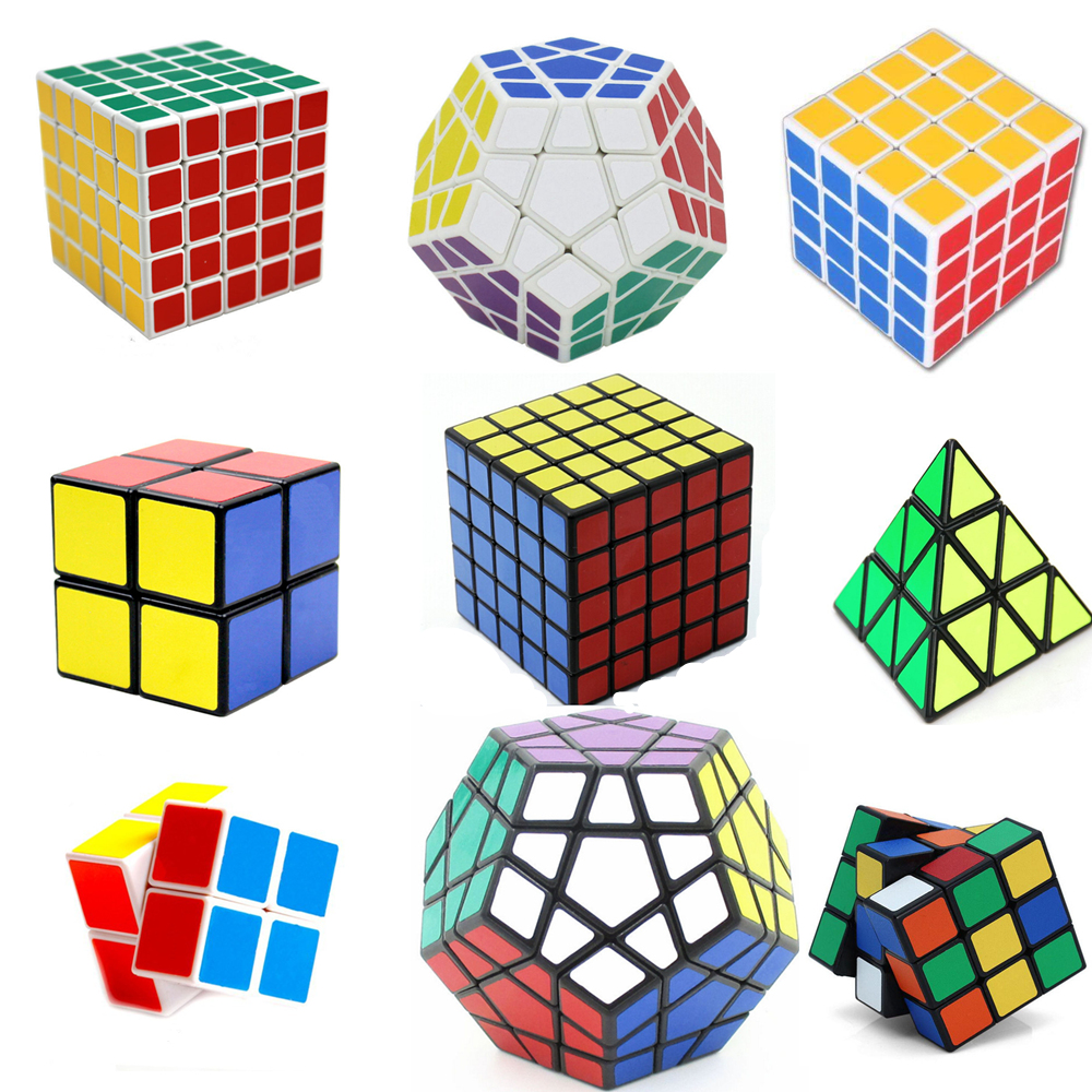 2017 Megaminx font b Magic b font font b Cube b font Square Puzzle Speed Sticker
