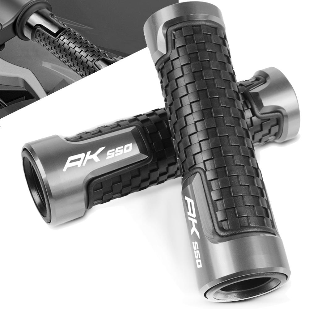 Universal 7/8 22mm Motorcycles Accessories Handle Hand Handlebar Grips For <font><b>KYMCO</b></font> AK550 <font><b>AK</b></font> <font><b>550</b></font> ABS 2017 2018 2019 image