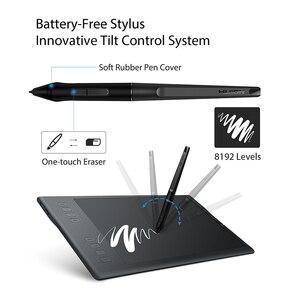 Image 4 - HUION INSPIROY Q11K V2 אלחוטי Digita עט Tablet סוללה משלוח מיועד ציור גרפי ציור Tablet עם 8192 רמות